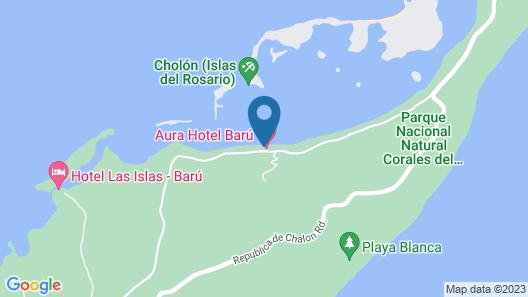 Las Islas Map