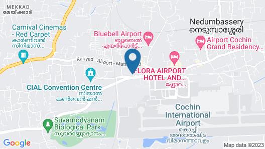 Courtyard by Marriott Kochi Airport Map