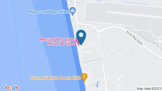 Mercury Phu Quoc Resort & Villas Map