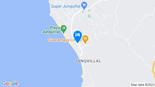 Guacamaya Lodge Map