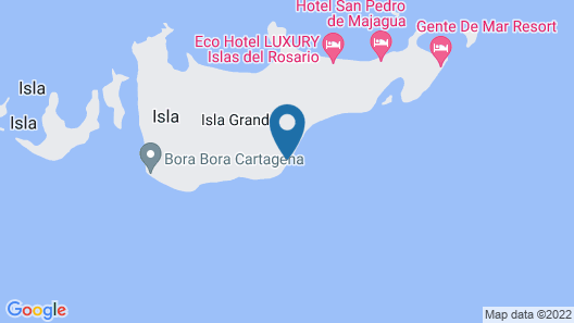 Eco Hotel Casa Blanca Map