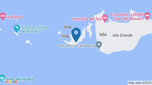 Isla Tijereto Map
