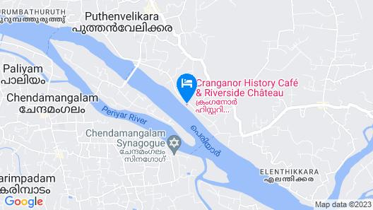 Cranganor History Cafe Riverside Chateau Map