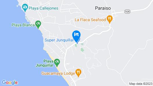 Hotelito Si Si Si Map