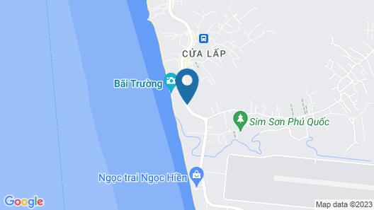 Eden Resort Phu Quoc Map