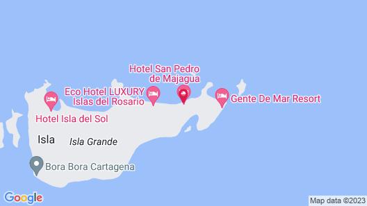 Hotel San Pedro de Majagua Map