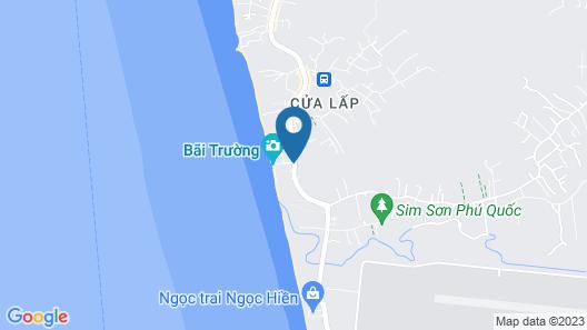 Dusit Princess Moonrise Beach Resort Map