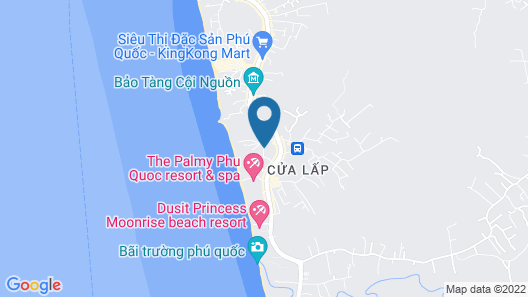Song Xanh Resort Phu Quoc Map
