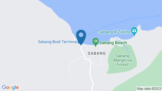 Daluyon Beach and Mountain Resort Map