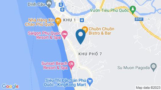 Lahana Resort Phu Quoc Map
