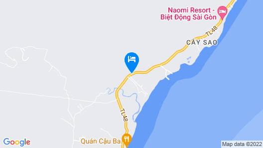 Dugong Cottage Phu Quoc Resort Map