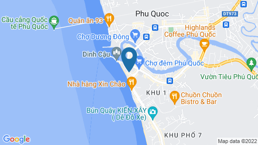 Seashells Hotel and Spa Phu Quoc Map
