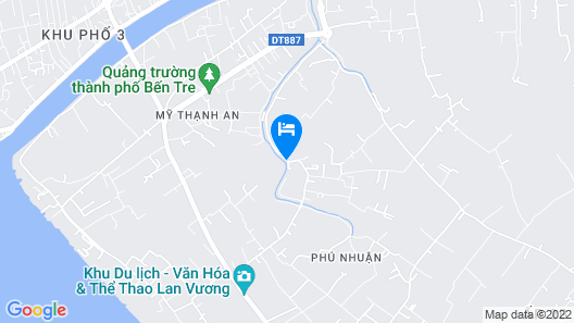 Ben Tre Farm Stay Map