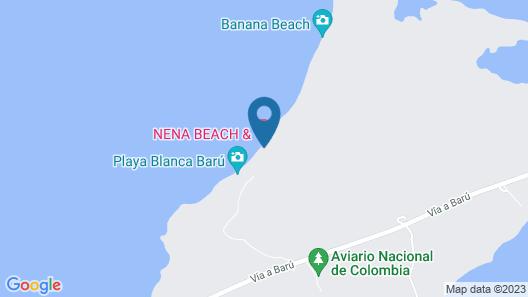 Nena Beach Club & Hotel Map