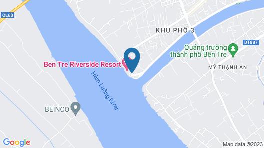 Ben Tre Riverside Resort Map