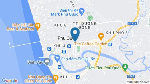 Bach Duong Phu Quoc Resort Map