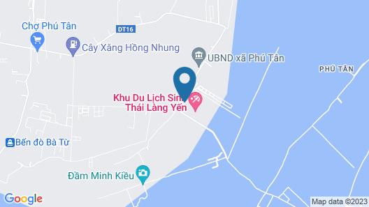Khu Du Lich Lang Yen Map