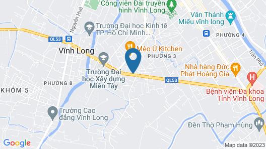 Ban Me Hotel Vinh Long Map
