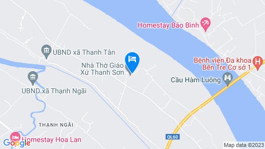Coco Farmstay Map