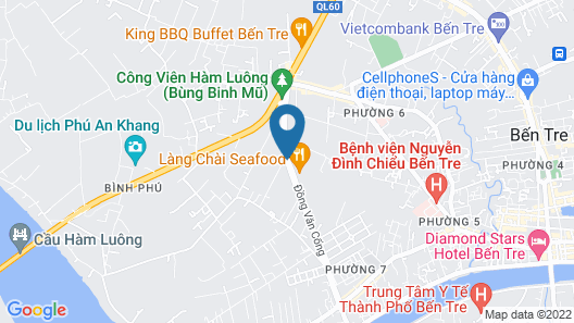 Huynh Thao Hotel Map