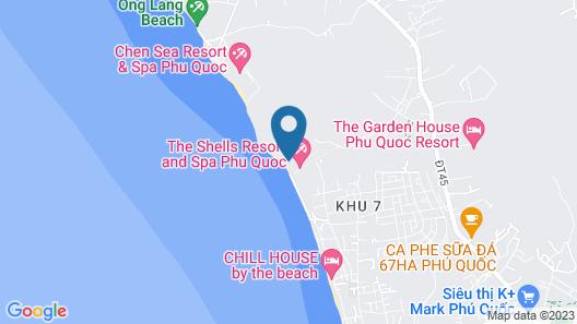 The Shells Resort & Spa Phu Quoc Map
