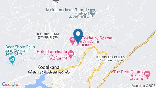 Zostel Kodaikanal Map