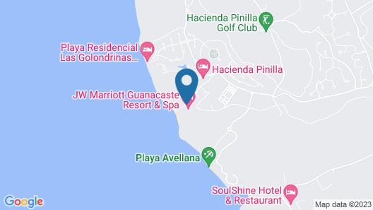 JW Marriott Guanacaste Resort and Spa Map