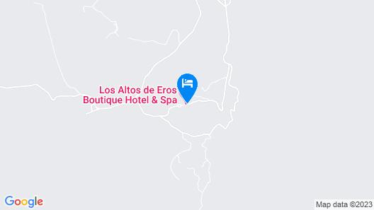 Los Altos de Eros Boutique Hotel & Spa Map