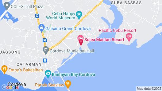 Solea Mactan Resort Map