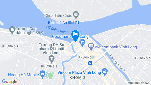 Saigon Vinh Long Hotel Map