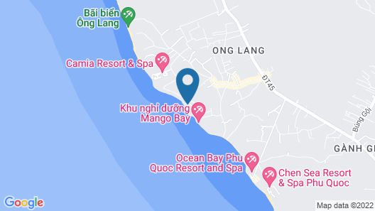 Ancarine Beach Resort Map