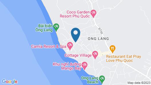 Hosana Resort & Spa Map