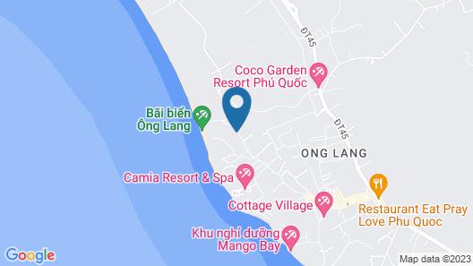 Ong Lang Village Resort Map