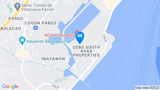 San Remo Oasis Serviced Apartments Map