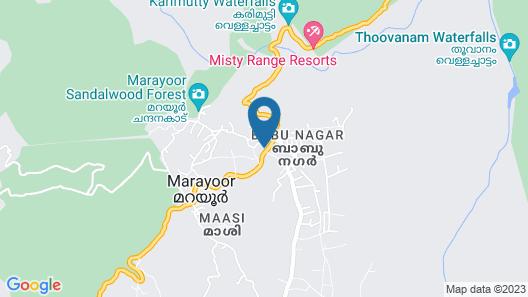 OYO 15510 Chandana Annexe Map