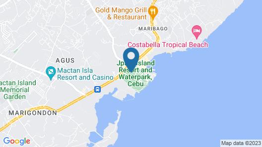 JPark Island Resort & Waterpark Map