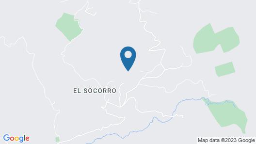 Casitas de Montaña Cabuya Map