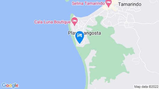 Occidental Tamarindo - All Inclusive Map