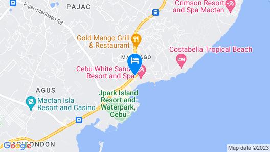 Cebu White Sands Resort and Spa Map