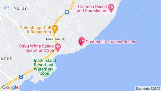 Costabella Tropical Beach Hotel Map