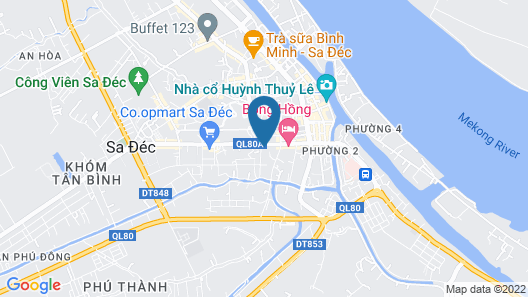 Phuong Nam Hotel Map