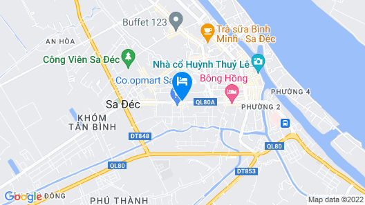 Hoang Duy Hotel Map