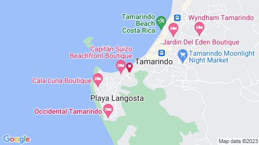 The Coast Beachfront Hotel  Map