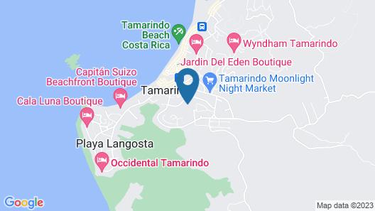Hotel Tamarindo Village Map