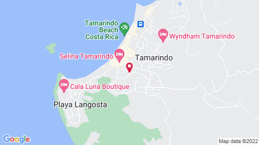 Tamarindo Bay Boutique Hotel - Adults only Map