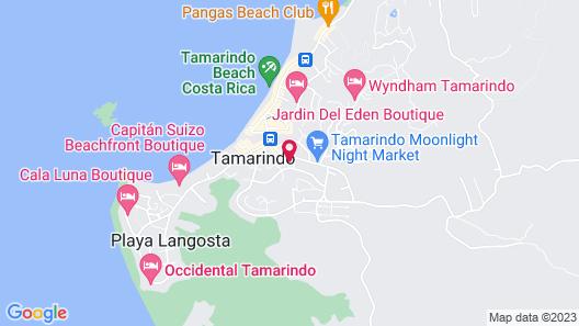 Hotel Boruca Tamarindo Map