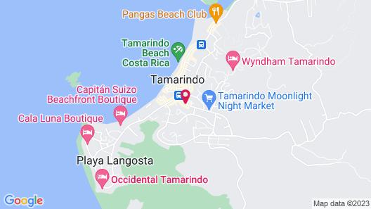 Hotel Pasatiempo Map
