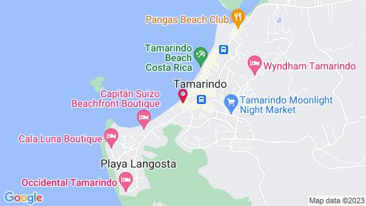 Ocho Artisan Bungalows Map
