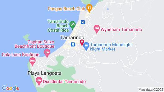 Hotel Mahayana Map