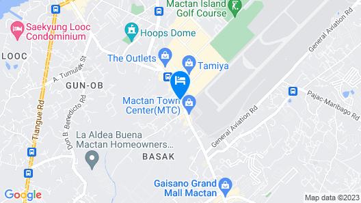 Vivien's Hotel Map